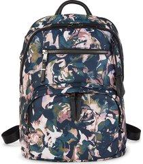 tumi hilden backpack - rose floral