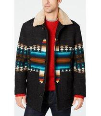 pendleton men's brownsville printed coat