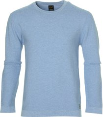 city line by nils pullover - slim fit - blauw