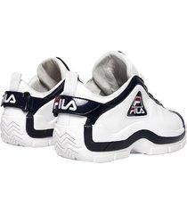 12-zapatillas de hombre fila 96 low-blanco