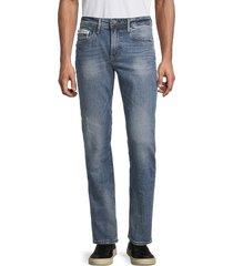 buffalo david bitton men's six-x slim straight jeans - indigo - size 31 32