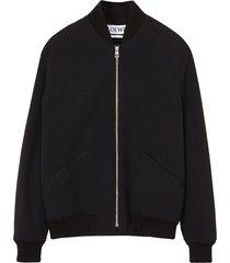 black daisy bomber jacket