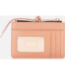 marc jacobs women's top zip multi wallet - sunkissed