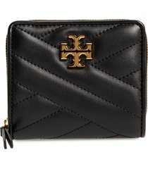 women's tory burch kira chevron quilted bifold wallet -