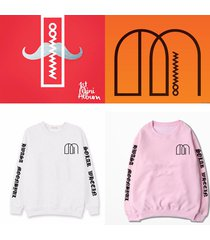 kpop mamamoo sweater unisex moon byul solar hoodie pullover long sleeve pullover