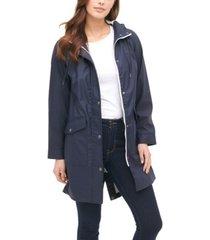 levi's midweight rubberized rain fishtail parka jacket