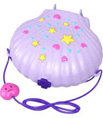 polly pocket tiny power seashell purse