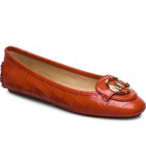lillie moc ballerinaskor ballerinas röd michael kors shoes