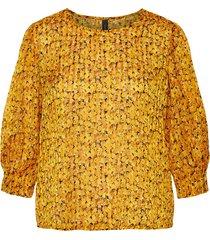 blouse bloemenprint