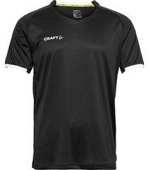 progress 2.0 solid jersey m t-shirts short-sleeved svart craft