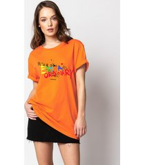 t-shirt extraordinary orange