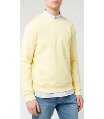 a.p.c. men's sweatshirt - jaune clair - xxl
