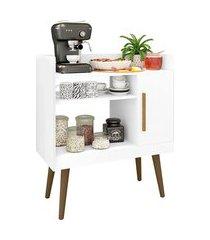 aparador balcão café ii móveis bechara 1 porta pés palito branco