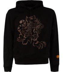 kenzo classic seasonal logo hoodie