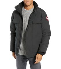 men's canada goose forester slim fit jacket, size small - black
