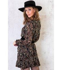 jurk met bloemenprint dames