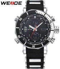 wat weide luxury quartz clock digital led watch army military sport watch male r