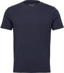 panos emporio bamboo/cotton tee crew t-shirts short-sleeved blå panos emporio