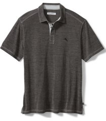 tommy bahama men's paradiso cove stripe jacquard polo shirt