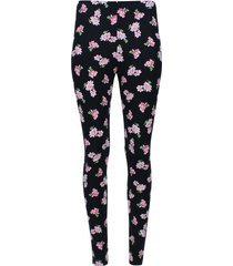 leggings estampado neostrechy color negro, talla s