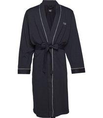 kimono bm morgonrock badrock blå boss