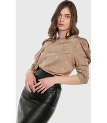 blusa cobre-negro paris district