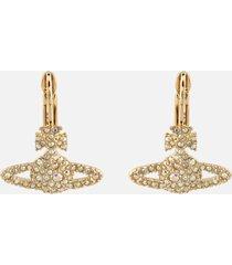vivienne westwood women's grace bas relief earrings - gold aurore