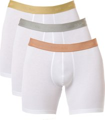 hom boxershort long sport body 3-pak wit