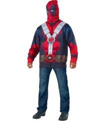 buyseasons men's deadpool 2 classic deadpool hoodie