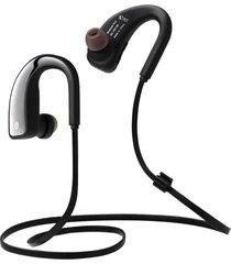 audifonos, auriculares manos libres audifonos bluetooth manos libres  inalambricos sport auricular en la oreja los auriculares estéreo con micrófono b1 deportes deporte corriendo auricular (negro)
