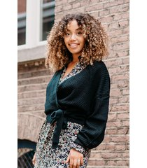 femme9 trui zwart olivia