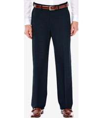 j.m. haggar men's classic/ regular fit stretch sharkskin suit pants