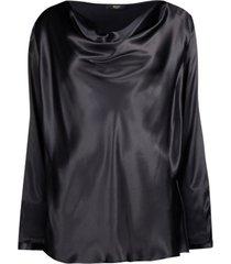subtle midnight blouse