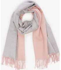 women's over reversible scarf mauve multi from sole society