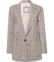 kavaj checked blazer