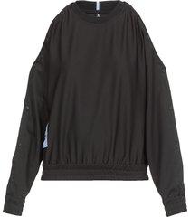 mcq alexander mcqueen breathe: popper sweater