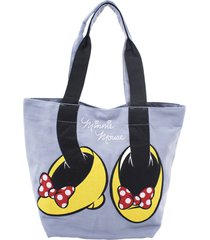 bolsa minas de presentes minnie azul