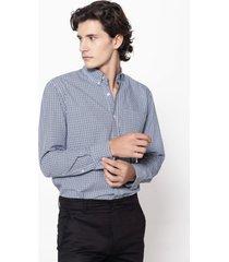 camisa azul equus classic fit