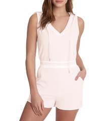 juicy couture women's sleeveless hooded romper - bunny nose - size m