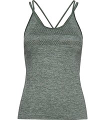 peri strap singlet t-shirts & tops sleeveless grå röhnisch