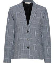 jasmin jacket blazer kavaj grå masai