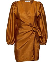 magnolia short dress 11244 korte jurk bruin samsøe samsøe