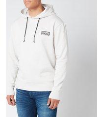 hugo men's downsville hoodie - light beige - xl