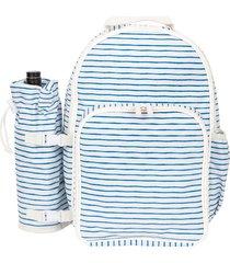 sunnylife picnic cooler backpack, size one size - blue