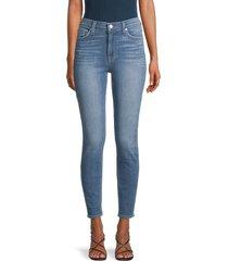 hudson women's blair high-rise skinny jeans - bali - size 26 (2-4)