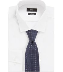 boss men's pastel blue t-tie