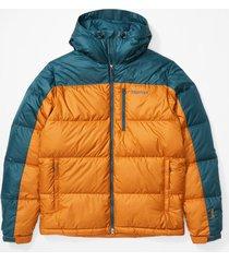 chaqueta guides down hoody naranja marmot