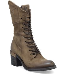 women's a.s.98 jasper bootie, size 6.5-7us - brown