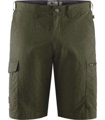 fjällräven korte broek fjällräven men travellers mt shorts laurel green