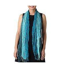 silk scarf, 'sweet wonder' (thailand)